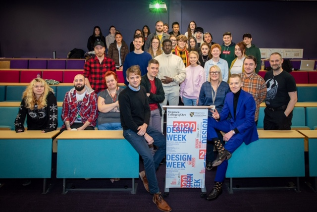 The BA (Hons) Graphic Design and BA (Hons) Advertising & Brand programmes at UWTSD's Swansea College of Art have once again completed a dynamic industry event at their annual Design Week.